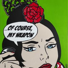 OF_COURSE_MY_WEAPON_VIJZEN_ARTIST